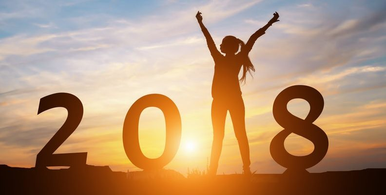 2018 A New Year A Fresh Start